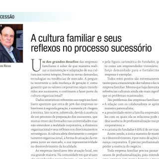 a cultura familiar